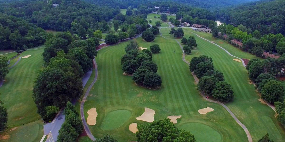 Apple Valley Golf Course at Rumbling Bald on Schedule to Reopen with Champion Bermuda Greens